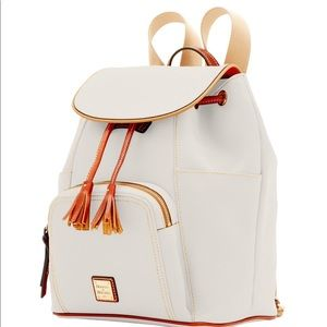 Dooney & Bourke Murphy LG Leather Backpack NWT